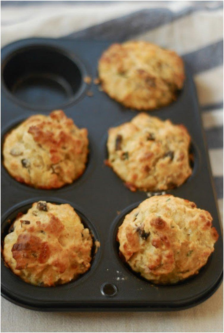 Not-Bacon Breakfast Muffins