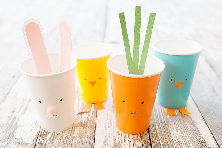 SIMPLE EASTER TREAT CUPS