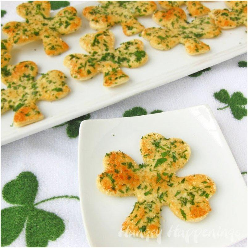 Shamrock Shaped Snack Crisps