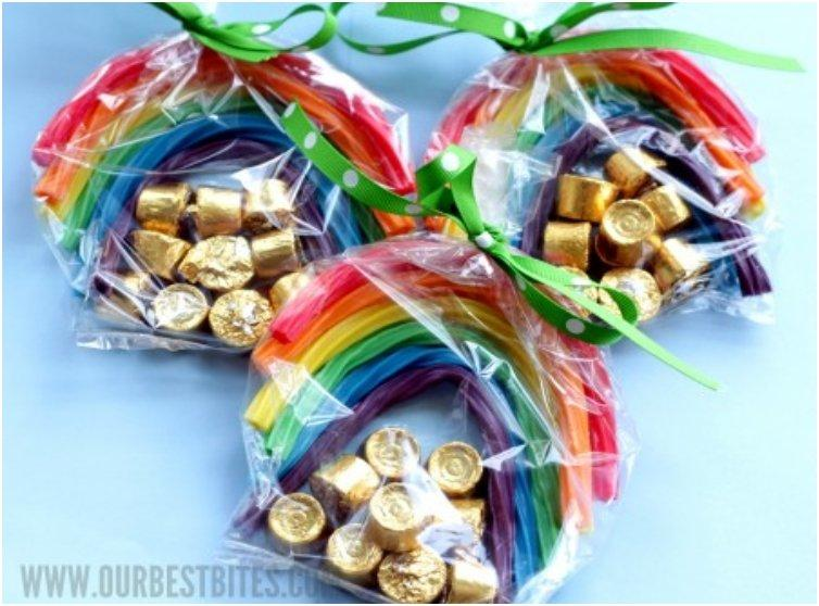 Bring Some Luck To Your Kids With These 20 DIY Sweet St. Patrick's Treat Bags