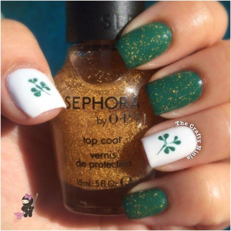 St. Patty s Clover Nails