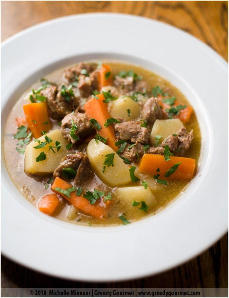 Traditional Irish Lamb Stew