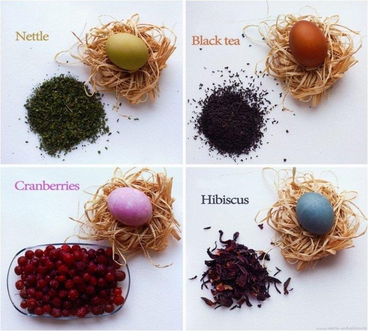 12 Tips To Dye Your Easter Eggs Using Natural Products From Your Pantry