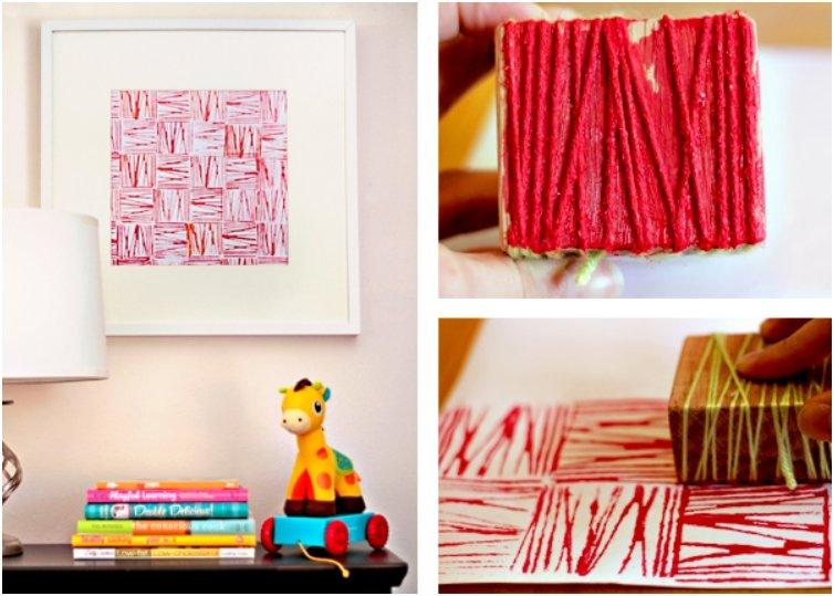 Yarn Block Prints