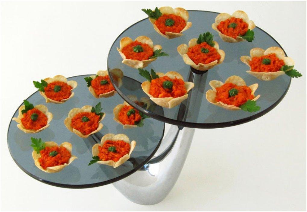 flower appetizers