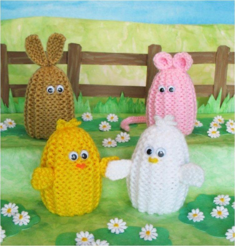 23 Free Crochet Patterns For Dressing Up Your Adorable Easter Eggs