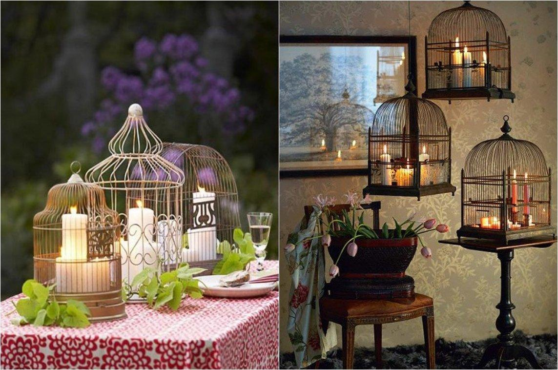 Marvelous Give Your Home A Chic Decor By Reusing Your Old Bird Cage In 25 Ways