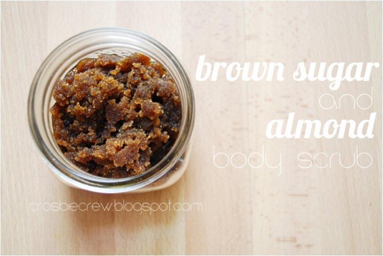Brown Sugar and Almond Body Scrub
