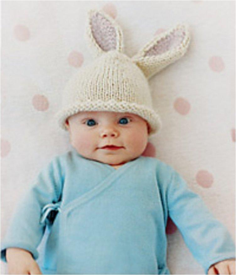 Bunny Ears Knitting Pattern : 21 Free Crochet And Knitting Patterns For Your Babys First Easter