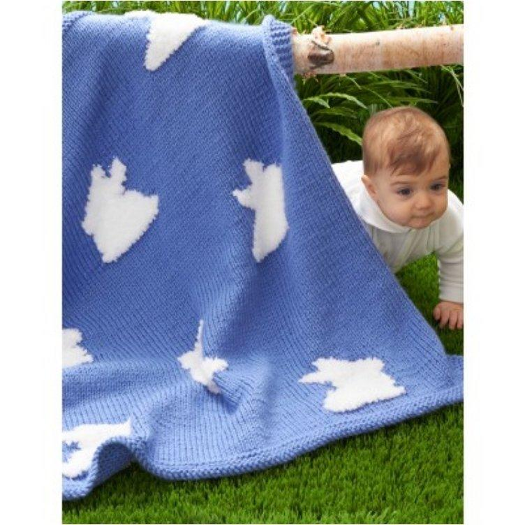 Bunny Blanket Knitting Pattern : 21 Free Crochet And Knitting Patterns For Your Babys First Easter