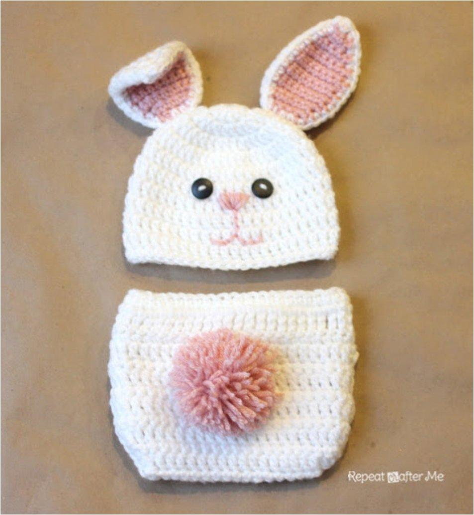 21 Free Crochet And Knitting Patterns For Your Baby\'s First Easter