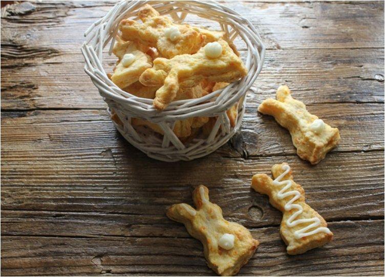 Carrot Shortbread Cookies