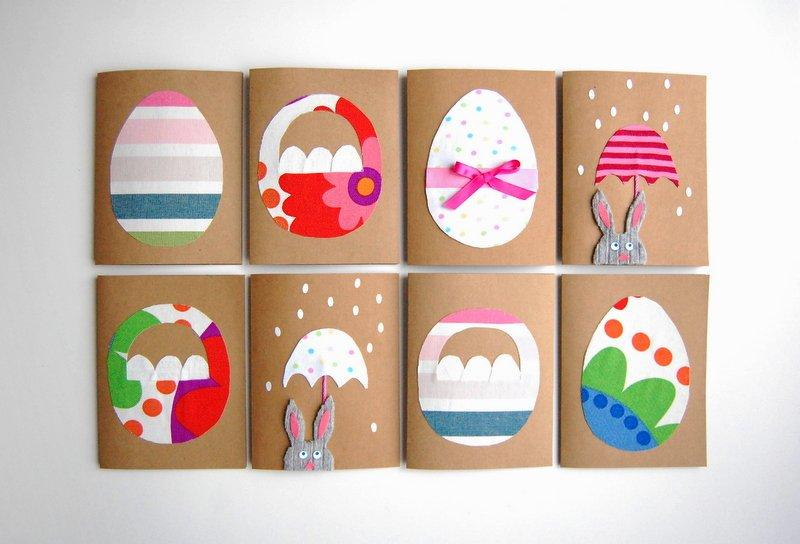 DIY – EASTER CARDS