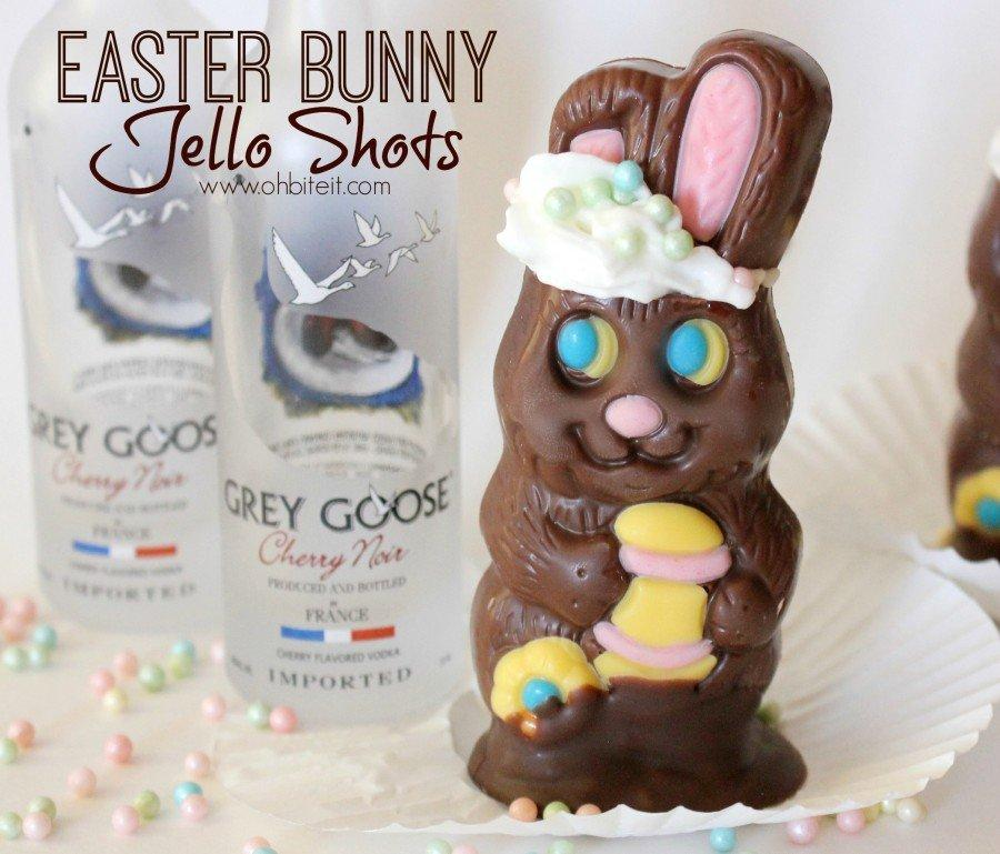 Easter Bunny Jello Shots