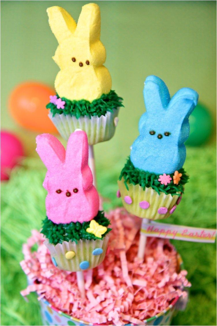 Easter Bunny Mini Cupcake Pops