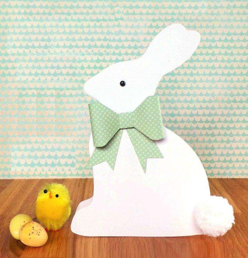 Easter Bunny Shaped Card