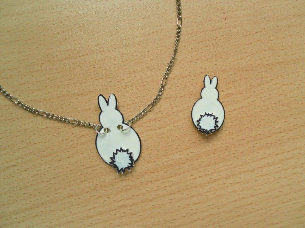 Easter Bunny Shrink Plastic
