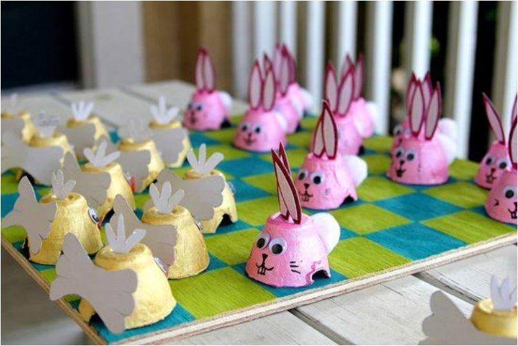 Easter Checkers