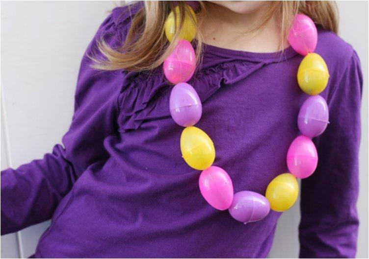 Easter Egg Candy Necklace