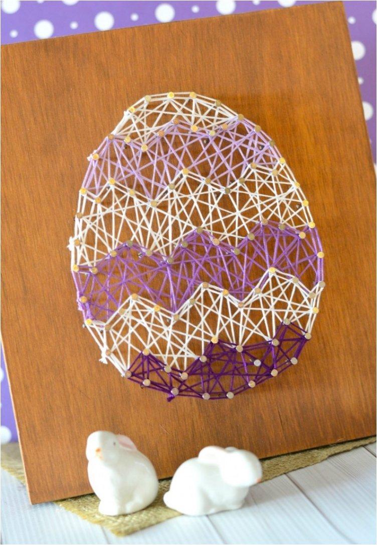 Easter Egg String Art
