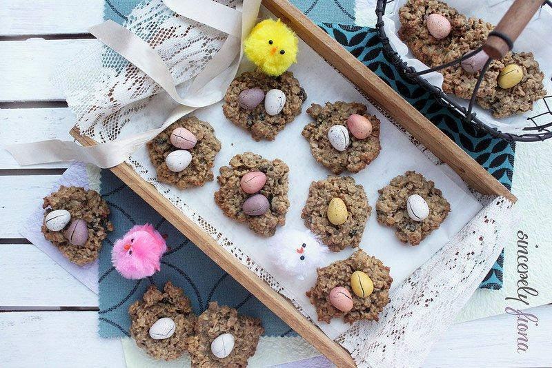 Easter Muesli Nests