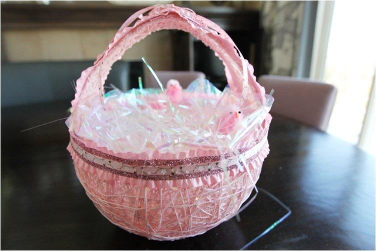 Easter Twine Baskets