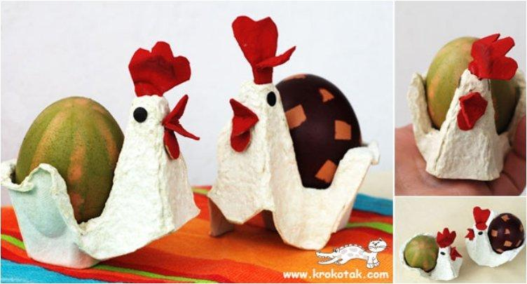 Cute 22 Egg Cartons DIY's For Easter And Around The House