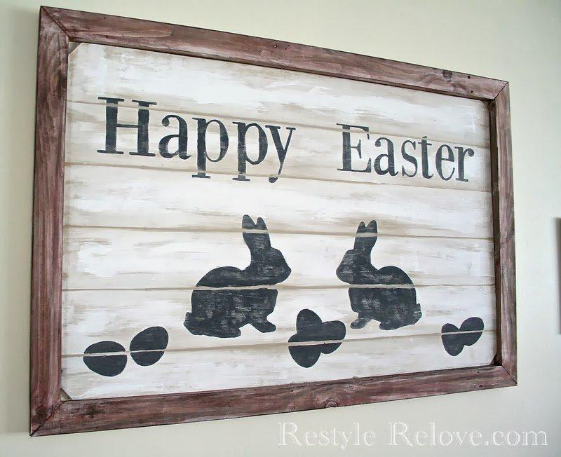 Farmhouse Style Easter Sign