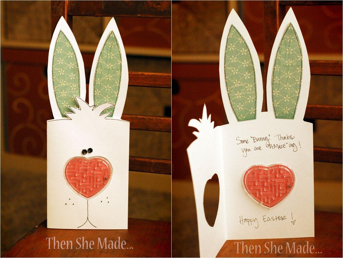 Fun Bunny Easter Card