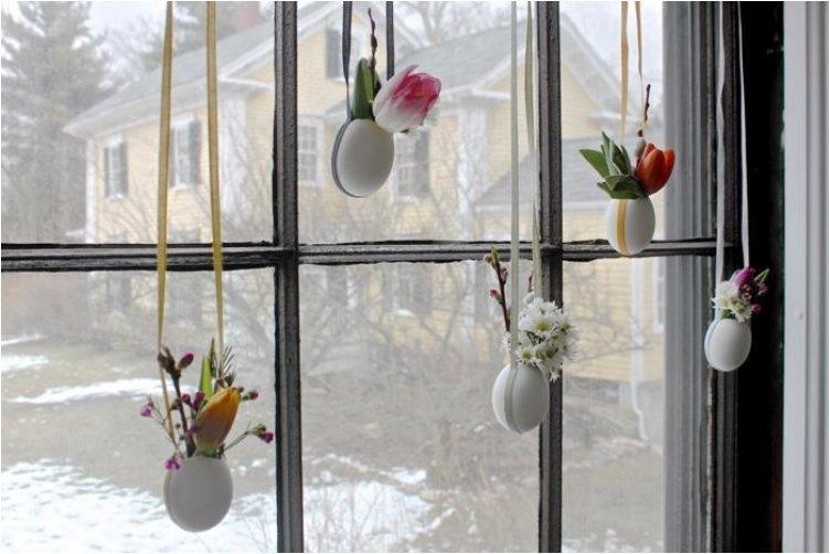 Hanging Easter Posies