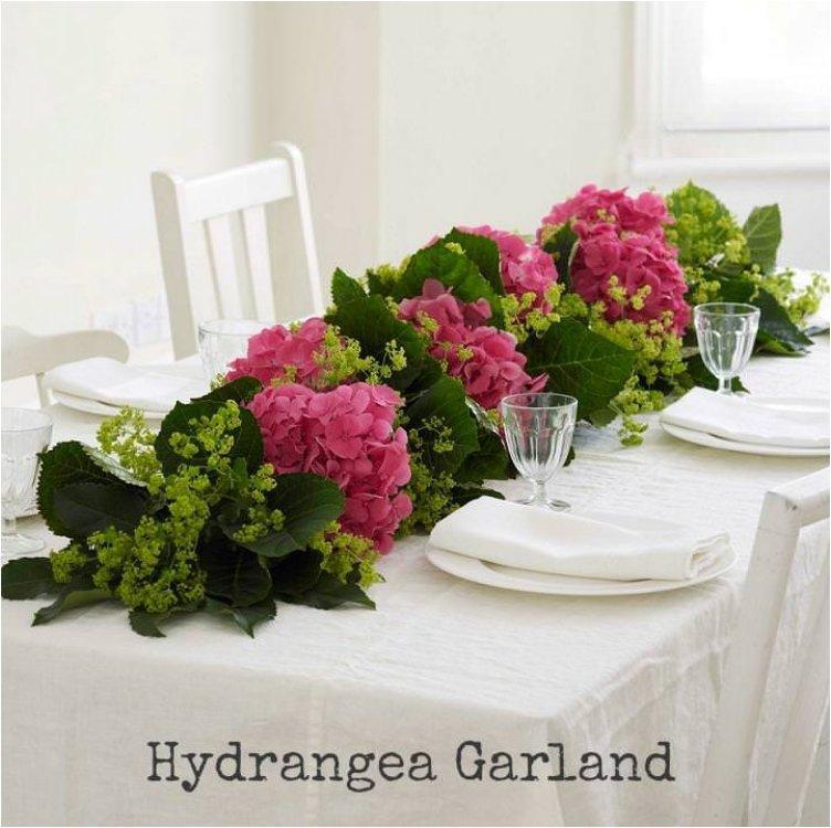 Hydrangea Garland