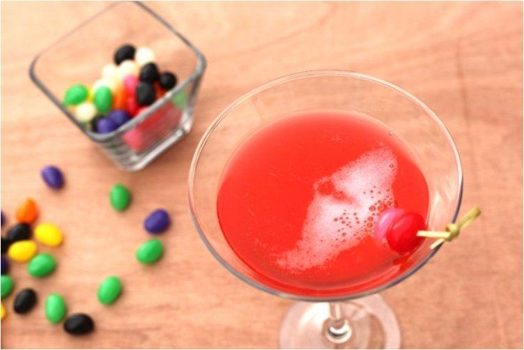 Jelly Bean Vodka Cocktails