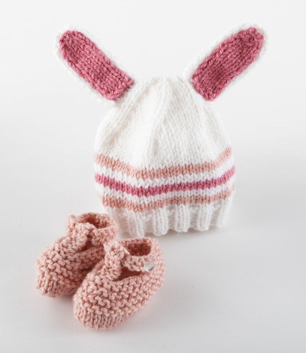 Crochet Bunny Baby Booties Pattern : 21 Free Crochet And Knitting Patterns For Your Babys ...