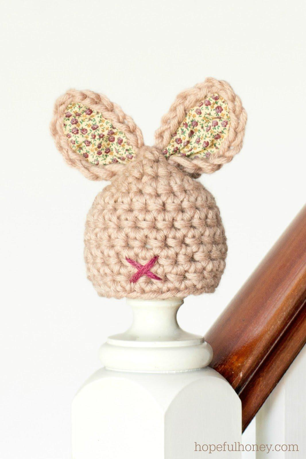Crochet Pattern For Newborn Bunny Hat : 21 Free Crochet And Knitting Patterns For Your Babys ...