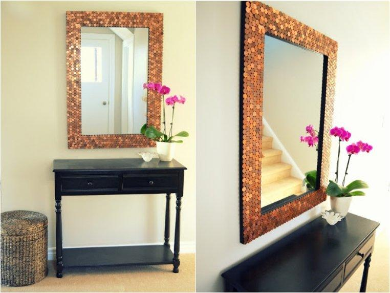 Reflect Beauty In Your Home With 25 DIY Decorative Mirrors