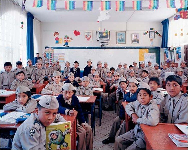 Peru, Cusco, Primary Grade 4, Mathematics