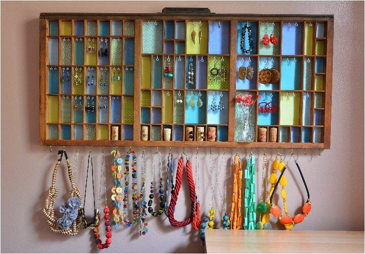 Printers Tray Jewelry Display