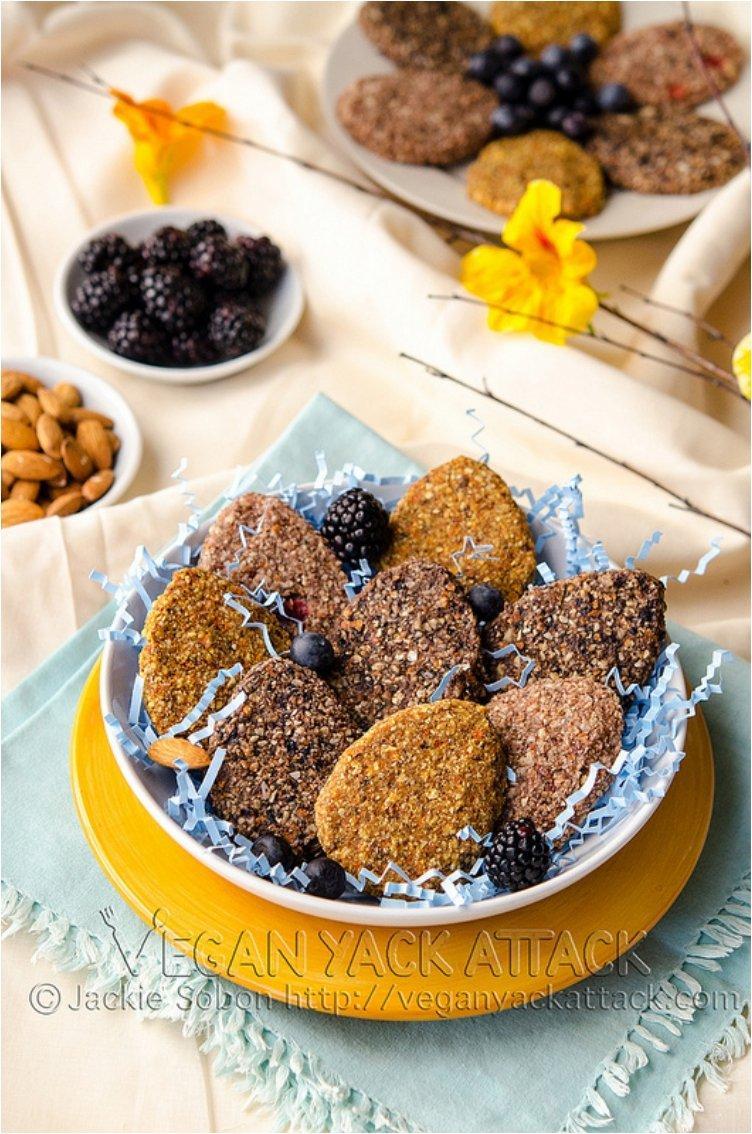 Raw Easter Cookies