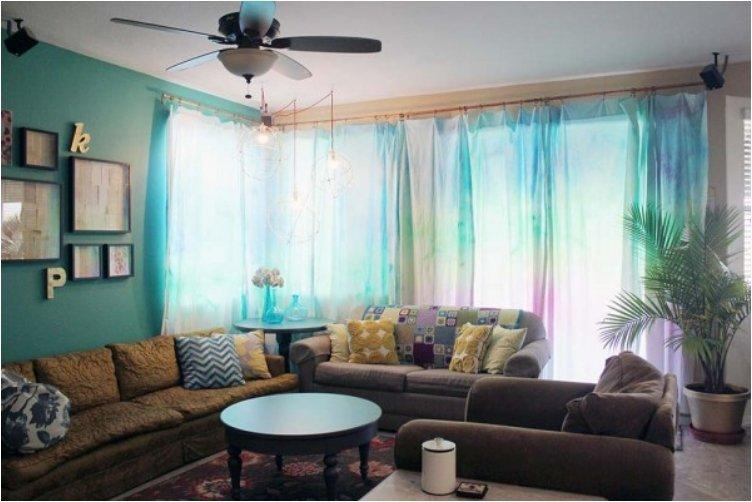 Give Your Windows A Spring Makeover With These 20 DIY Curtains