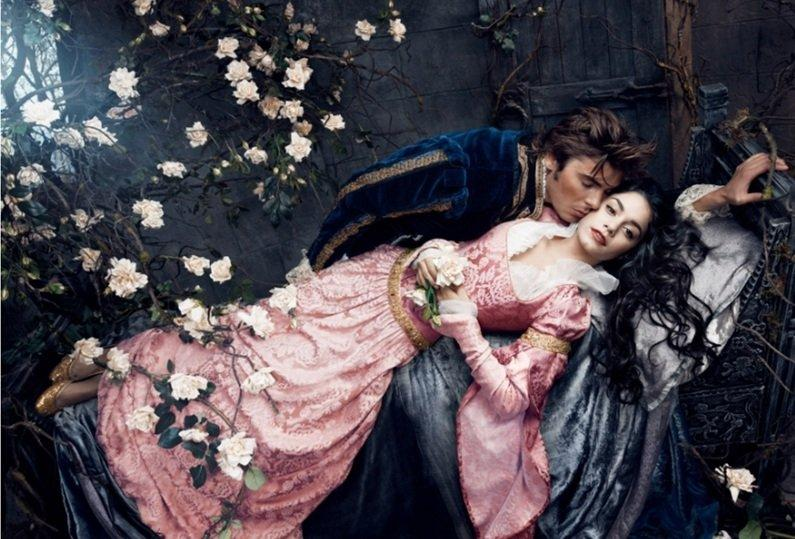 Zac Efron and Vanessa Hudgens from Sleeping Beauty
