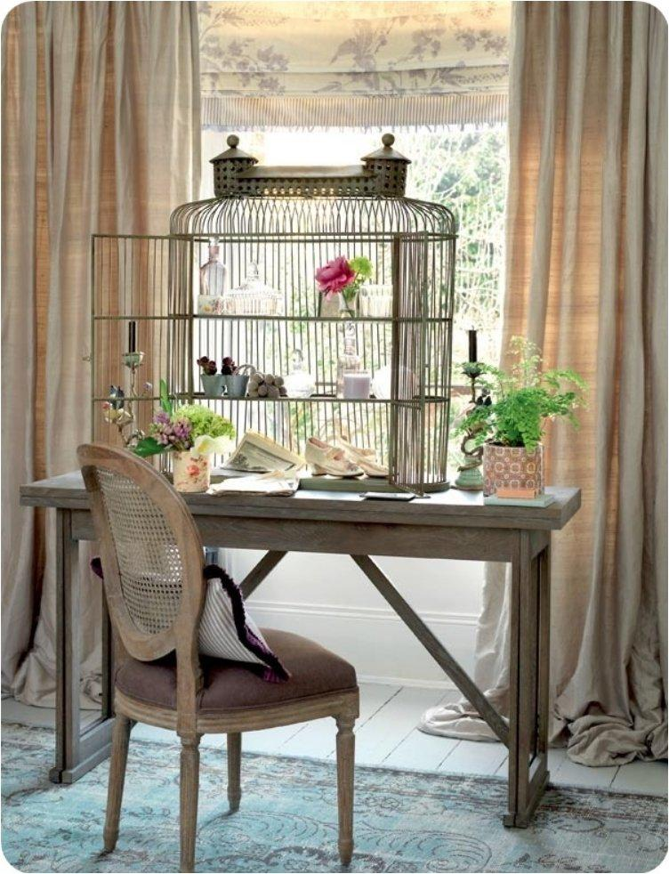 bird cage shelving idea