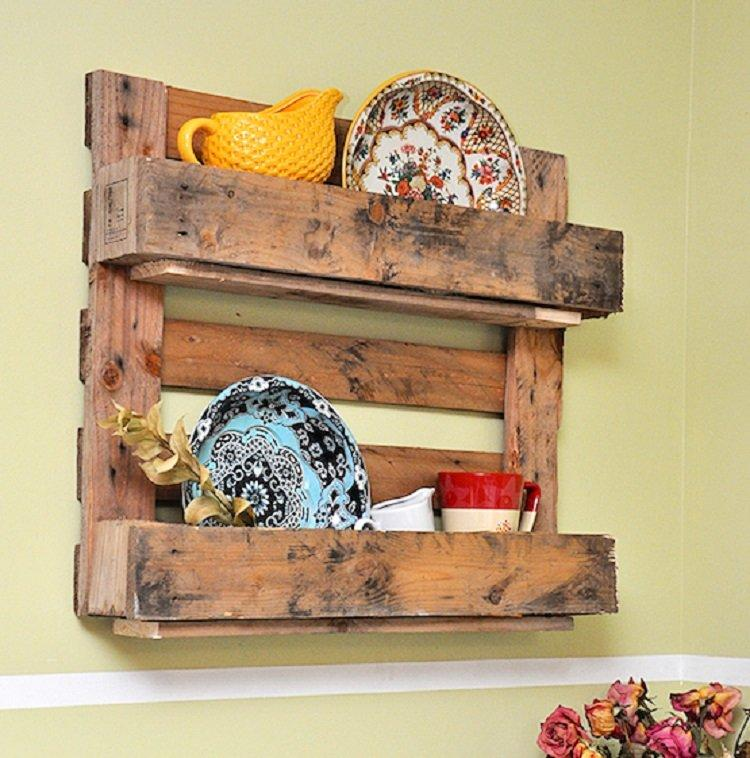 Make shelves as lovely as the items you put on them with for Shelf decor items