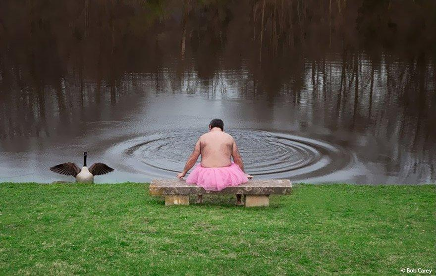 The Lengths A Man Would Go For His Wife With Breast Cancer: The Tutu Project
