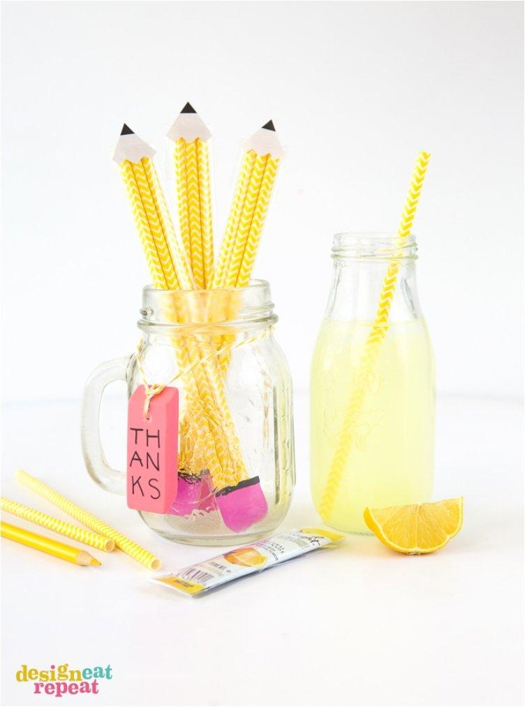 Paper Straw Pencil Pouches