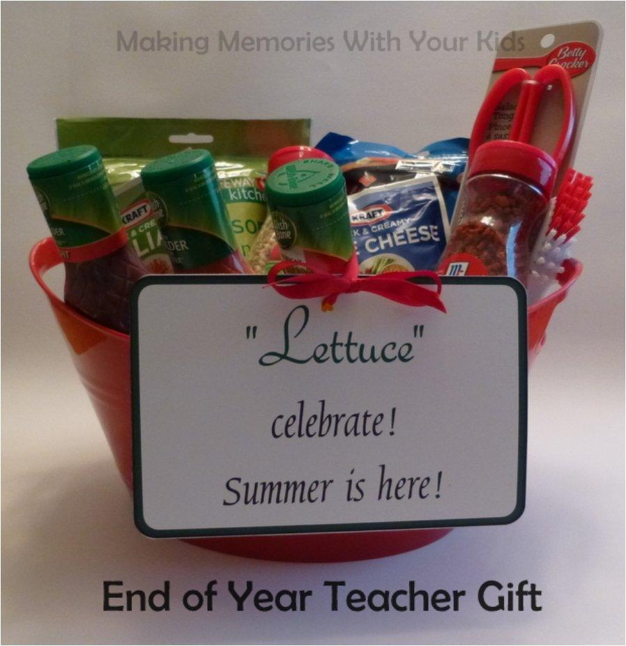 Spiced Up Teachers Gift