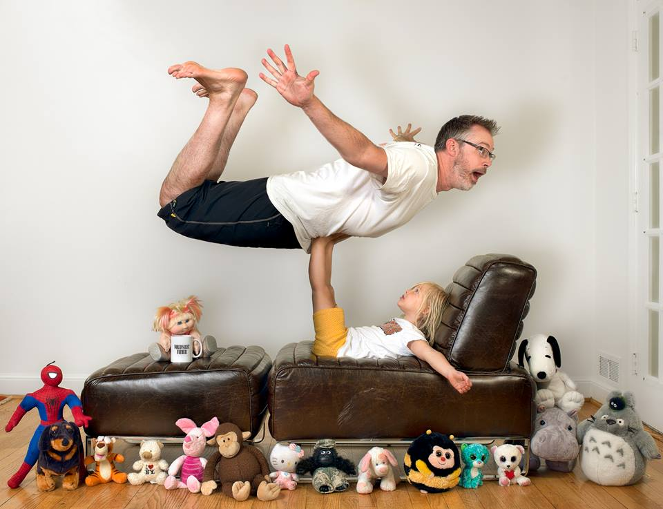 The World's Best Dad And His Adorable Daughter Show The Wacky Way They Spend Their Days