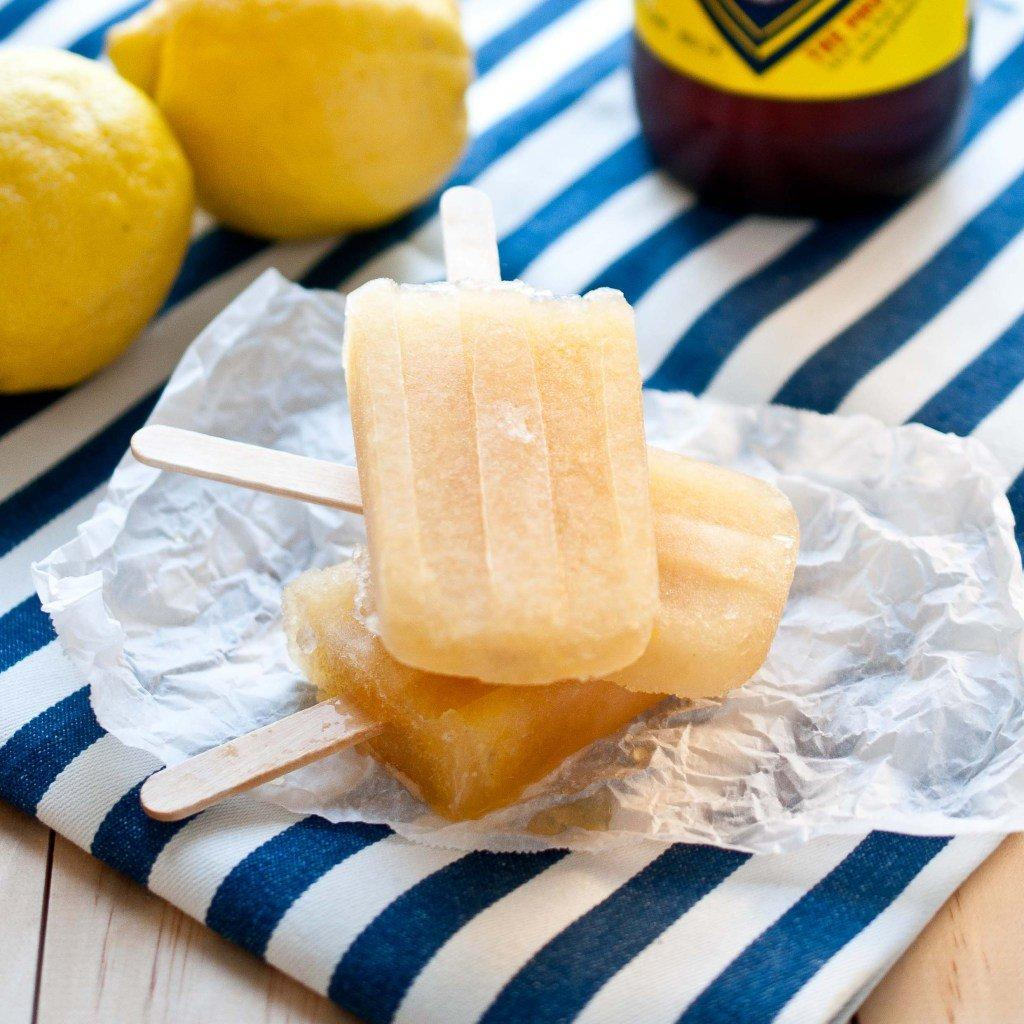 Beer Popsicles  Lemon Pale Ale