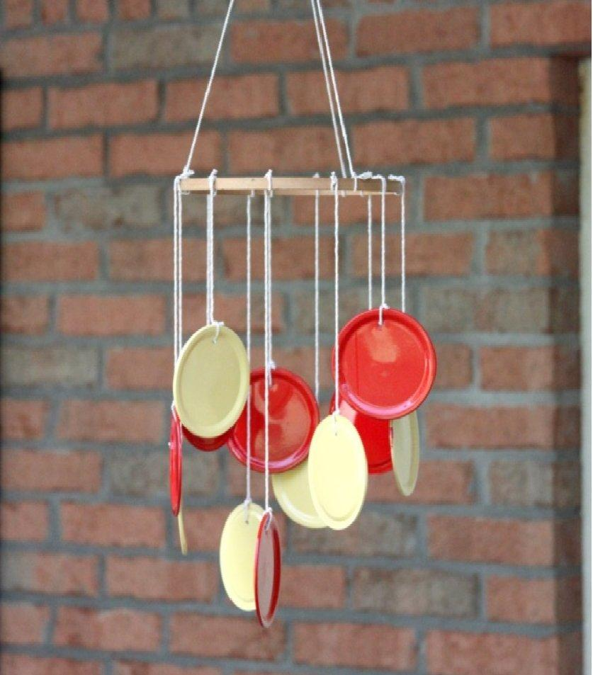 Canning Lid Wind Chime