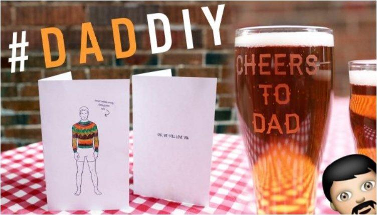 DIY FATHER'S DAY CARD & GLASS ETCHING TUTORIAL