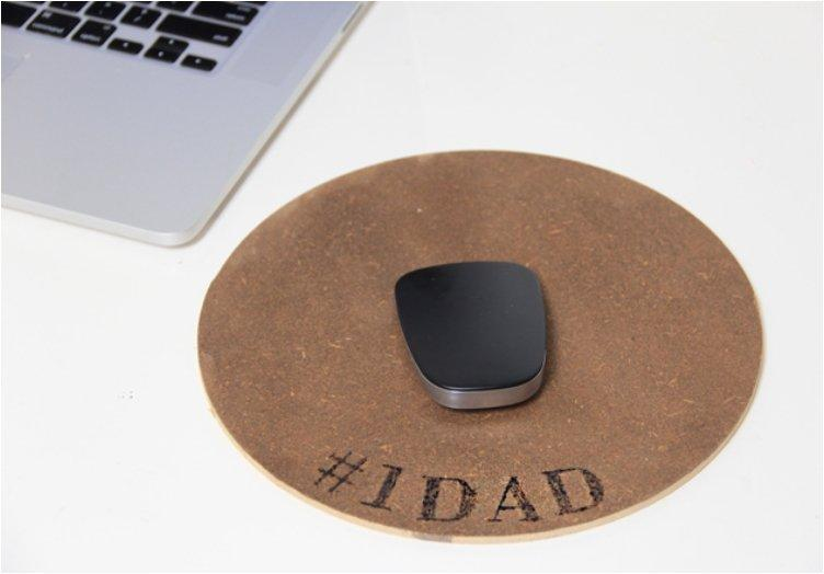 Engraved Wood Mousepad